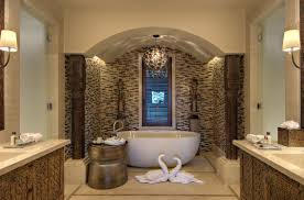 bathroom gorgeous pebbles stone bathroom wall decor with beige