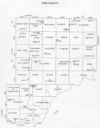 mn counties map pine county minnesota history
