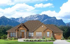 rambler house style casper a mountain rustic style rambler house plan walker home