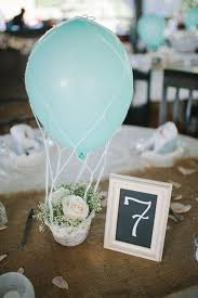 balloon centerpiece ideas hot air balloon inspired decorations that will take you to cloud