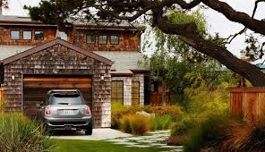 Backyard Garage Ideas Exterior Front Garage Landscaping Design Ideas 4 Of 9 Photos