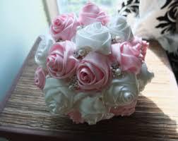 Rose Bouquet Fuchsia 9in Blush Pink Calla Lily Bouquet Bridal Bouquet Wedding Bouquet