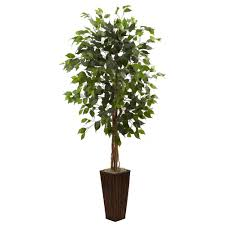 Decorative Fake Trees For The Home by Artificial Ficus Trees Fake Ficus Tree Outdoor Ficus Trees