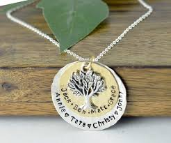 personalized family necklace grandmother tree of necklace lovable keepsake gifts