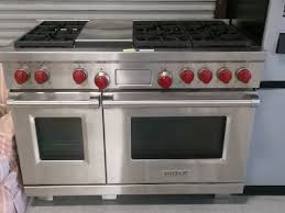 Wolf 48 Inch Gas Cooktop Wolf Double Oven Range Demonstration Youtube