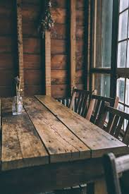Distressed Wood Dining Room Table by Top 25 Best Old Wood Table Ideas On Pinterest Old Wood Glow