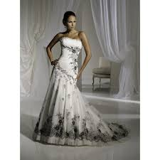 black and white wedding dresses style weddings cheap black and white