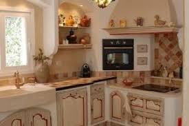 cuisine provencale avec ilot modele de cuisine provencale moderne kirafes