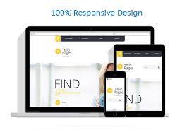 business centre site template