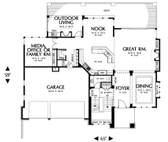 floor plan design custom homes