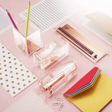 modern desk accessories and organizers amazon com zodaca deluxe acrylic design soft touch square pen