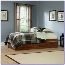 twin bed with 6 drawers underneath bedroom home design ideas