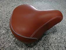 Most Comfortable Beach Cruiser Seat Brown Cruiser Bicycle Saddles U0026 Seats Ebay