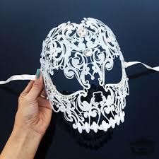 mardi gras skull mask shop sugar skull mask on wanelo