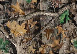 realtree leaves branches camouflage area rug