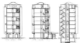 Maisonette Floor Plan Housing Prototypes Highpoint I U0026 Ii