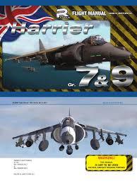 razbam harrier gr 7 gr 9 aircraft manual aerospace aerospace