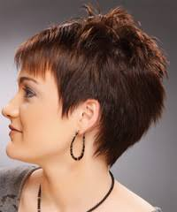 short hair cuts with height at crown short straight casual pixie hairstyle short pixie short hair
