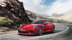 porsche 991 gt3 price 2018 porsche 911 gt3 gets 4 0 engine and manual transmission