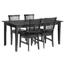 target dining room furniture 5 pc arts and crafts dining table with leaf and 4 chairs target