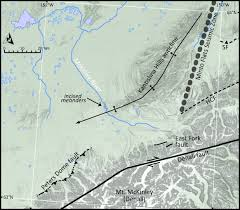 Healy Alaska Map by The Quaternary Thrust System Of The Northern Alaska Range