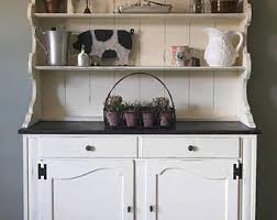 Kitchen Furniture Hutch Farmhouse Hutch Etsy