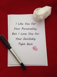 i like you for your personality i love you for your devilshly