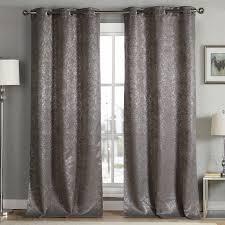duck river maddie metallic blackout grommet pair curtain panel