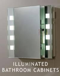 Illuminated Mirrored Bathroom Cabinets Bathroom Mirror Bathroom Cabinets Illuminated Mirrors