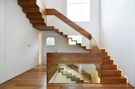 Quarter Turn Stairs Design Quarter Turn Staircase Straight Wooden Steps Metal Frame