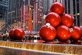 Large Outdoor Christmas Ornaments by A Perfect Christmas In New York City