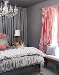 dark pink bedroom curtains pink curtains and drapes inside gray