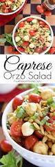 Creamy Pasta Salad Recipes by Caprese Orzo Salad