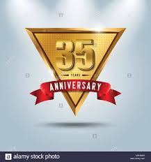 35 year anniversary thirty five 35 years anniversary stock photos thirty five 35