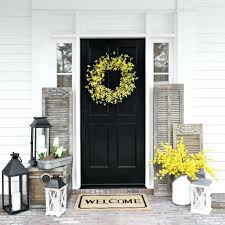 Country Cottage Decorating Ideas by Front Door Of Country Cottage A White Tiled English Country