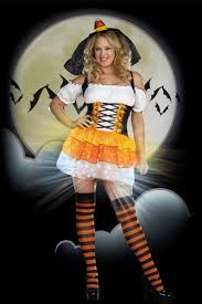 Candy Corn Costume Plus Size Orange Black Candy Corn Cutie Light Up Halloween Costume