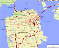san francisco map detailed san francisco map and san francisco satellite image