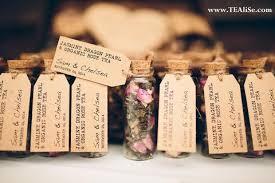 wedding tea tealise personalised wedding party tea gift set