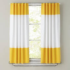 Yellow And Grey Curtain Panels Yellow And White Striped Curtains 45 Images Kendal Yellow