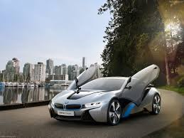bmw hydrid bmw i8 concept car in hybrid industry tap