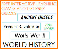 world history study games and practice quizzes student handouts