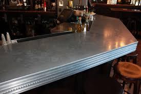 Zinc Top Bar Table Zinc Countertops Guest Post By Joe Cain Of Mio Metals