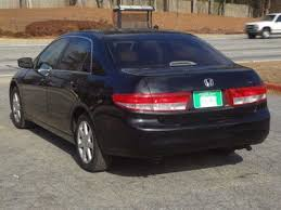 2003 honda accord horsepower 2003 used honda accord sedan ex automatic v6 w leather at marietta