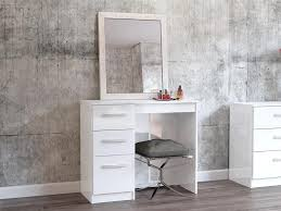 white table with drawers dressing tables modern bedroom furniture trendy products