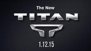 new nissan titan 2016 nissan titan logo unveiled autoevolution