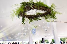 Grapevine Chandelier Color Of The Year Greenery U2013 Price Rentals U0026 Events