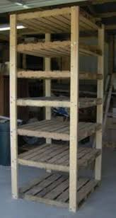 Building Wood Shelf Garage by Great Plan For Garage Shelf Do It Yourself Home Projects From