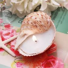wedding favor candles sea shell wedding candle favors theme wedding favors