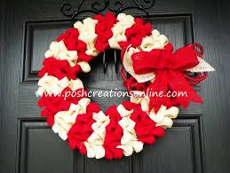 shabby chic burlap bubble wreath burlap christmas wreath candy