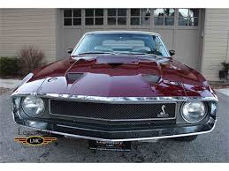 1969 ford mustang gt500 for sale 1969 ford mustang shelby gt500 for sale classiccars com cc 1022495